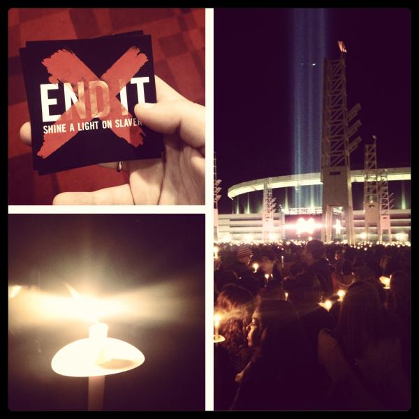 end it - shining a light on slavery