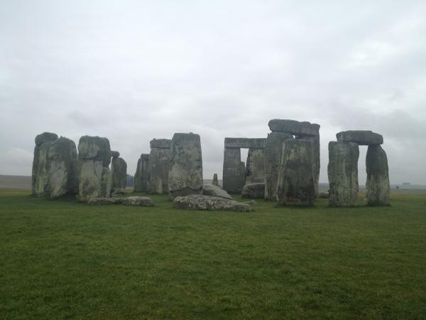 Hinds Community College students visit stonehenge